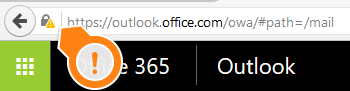 outlook address bar icon
